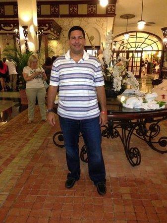 ClubHotel Riu Bambu: En el lobby, no tiene aire acondicionado