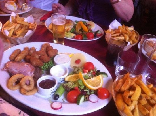 Aldborough, UK: the biggest meal out I have ever had. all home made very good price. Cartons provided to take ho