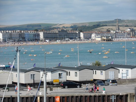 The Grange Bed & Breakfast: A view of Weymouth