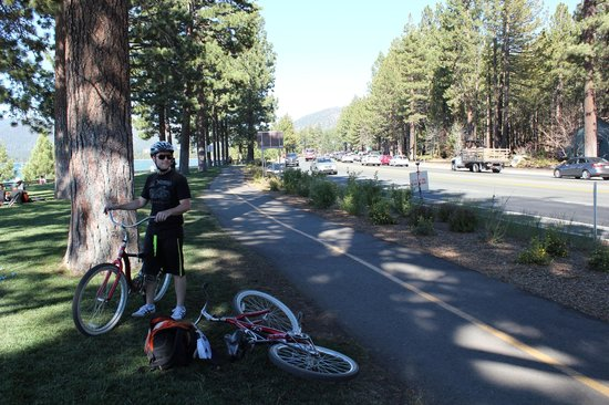 Hotel Azure: Bikes!
