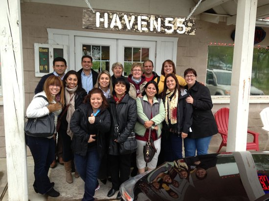 Our Group at Haven 55