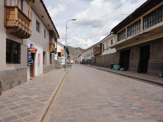 San Agustin International Hotel : Rua do hotel