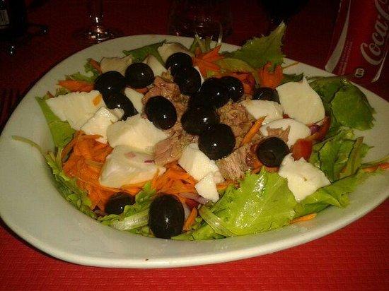 Lo Scugnizzo : insalatona mista