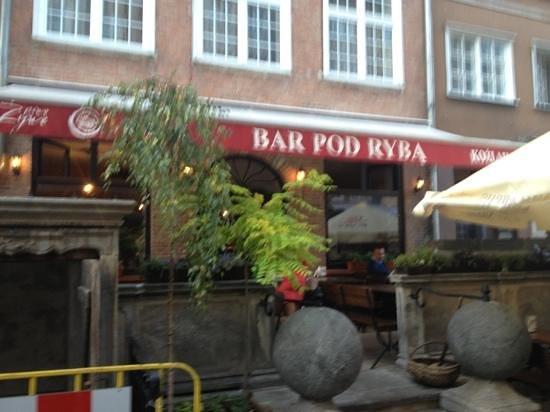 Bar Pod Ryba : Außenansicht
