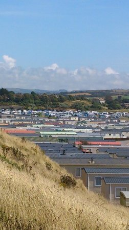 Freshwater Beach Holiday Park: cliff top view