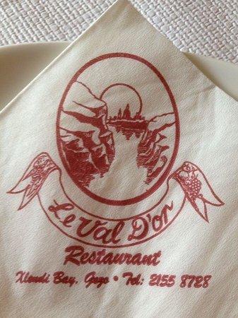 Le Val D'Or Restaurant & Bar: Le Val D'or