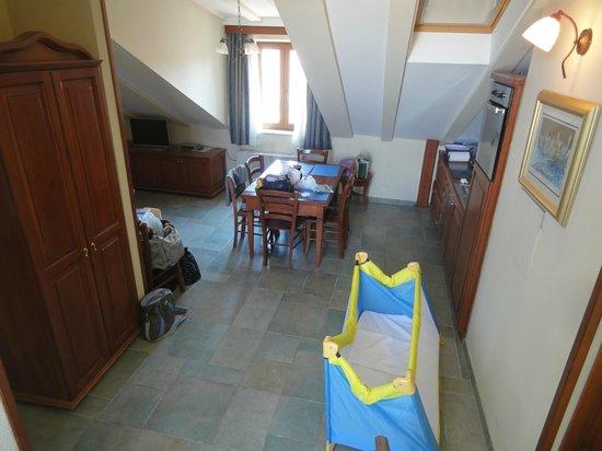 Villa Meri : l'appartamento