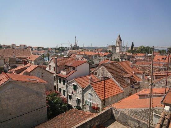 Villa Meri : Panorama dal terrazzino
