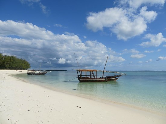Hideaway of Nungwi Resort & Spa: Local tour boat