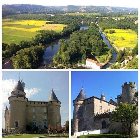 Château de Mercuès : View