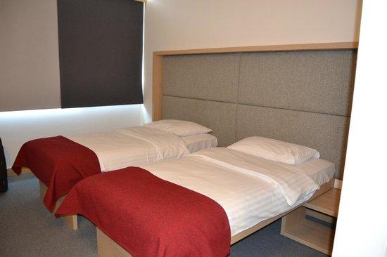Hotel Rebro: Lits très confortables