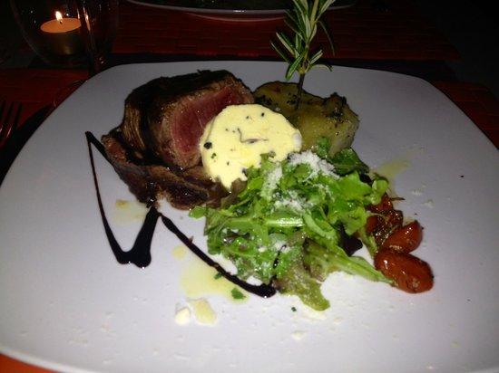 Il Tartufo: Irish beef fillet