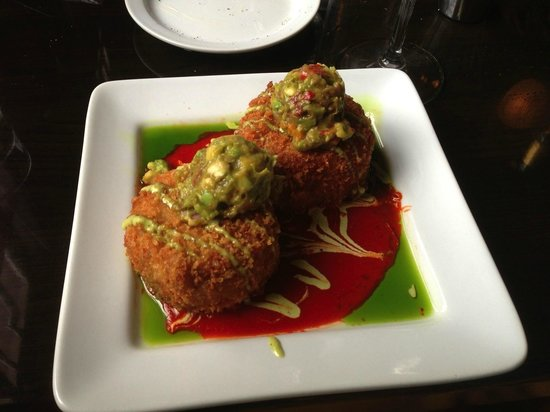 Depot Grill crab cakes
