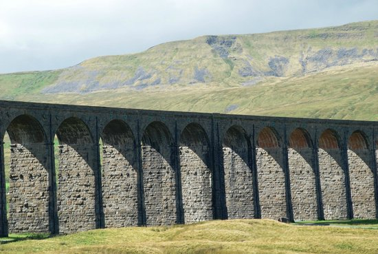 Ribblehead Viaduct: Arches Marching across the Moor
