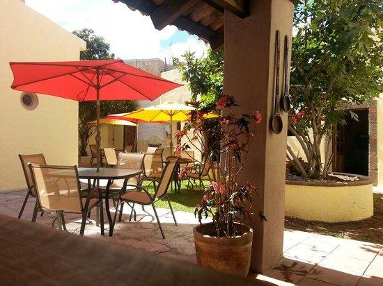 La Fragua Restaurante: mi jardín favorito