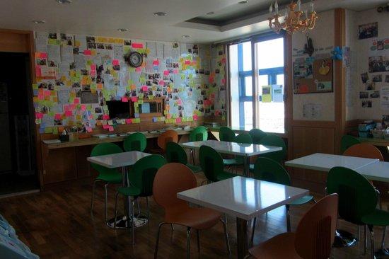 Hostel Lyndon: Dining room (very cozy)