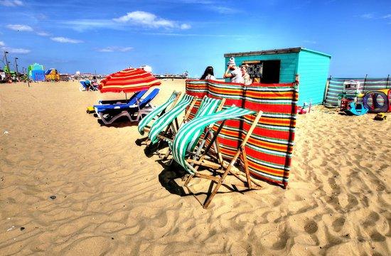 The Pleasure Beach: Deckchairs