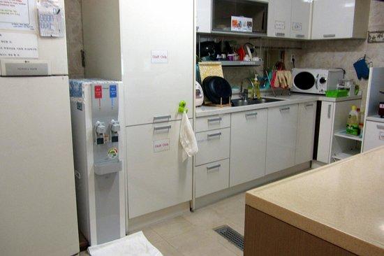 Hostel Lyndon: Kitchen