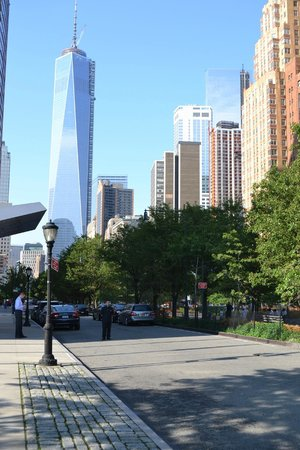 The Ritz-Carlton New York, Battery Park: La vista dall'ingresso dell'Hotel