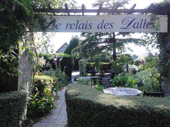 Le Relais des Dalles : Entrée de l'hôtel