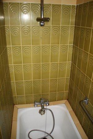 Aragon Hotel : baignoire