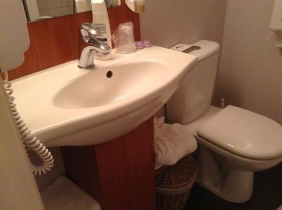 Citotel Hotel de France : bagno normale