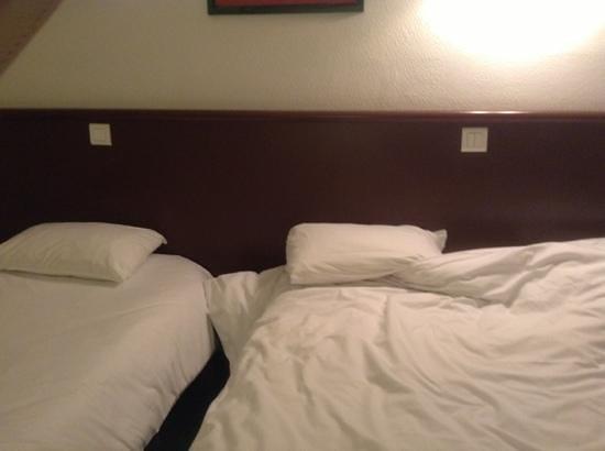 Citotel Hotel de France : letto