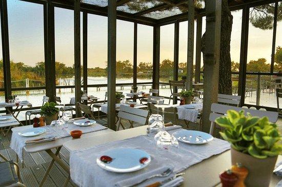 Mas de la Fouque : Terrass Restaurant