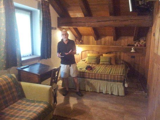 Hotel Della Nouva : la nostra camera