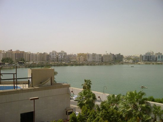 Red Sea Palace Hotel: The lake view