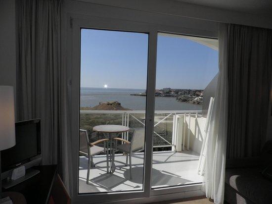Hotel Cordouan : vue mer