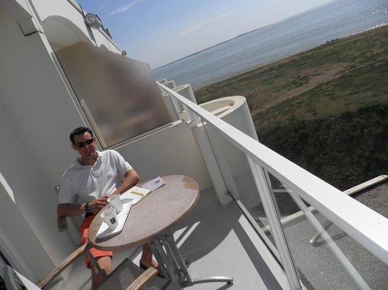 Hotel Cordouan : terrasse