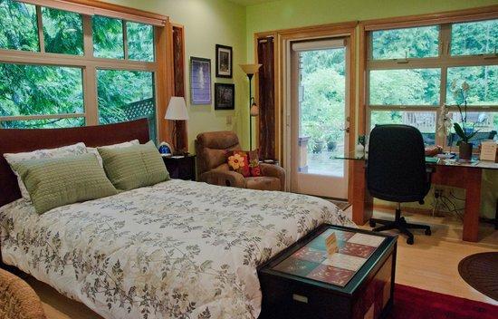 Tree Frog Night Inn: Forest Room