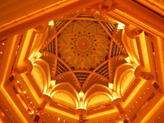 Emirates Palace: Saguao central