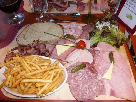 Brasserie La Gérômoise : PLAT