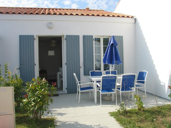 Résidence Odalys Terre Marine : Terrasse privative