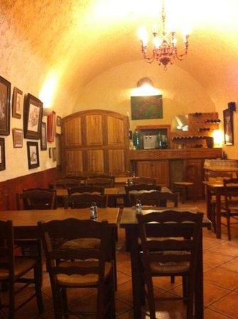 Chez Paco : l'intérieur