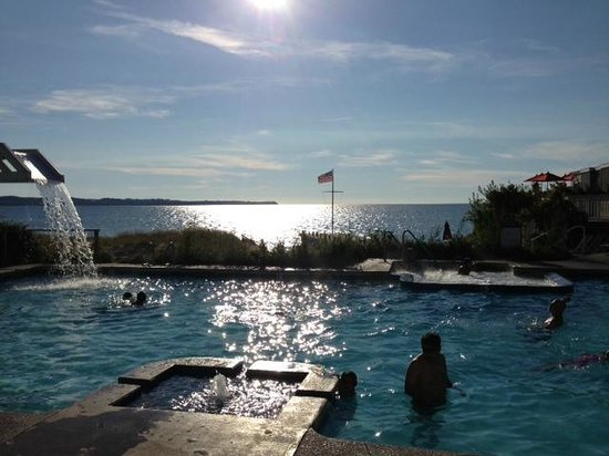 The Homestead: Pool off of Lake Michigan