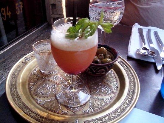 La Kasbah: Oriental aperitif