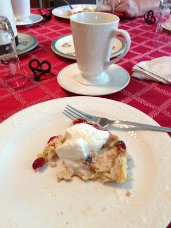 On Cranberry Pond Bed and Breakfast: exquisito desayuno
