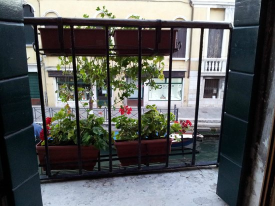 Hotel Locanda Salieri: Nice flowers on the small balcony.
