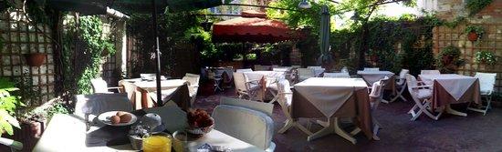 Hotel Locanda Salieri: Breakfast area