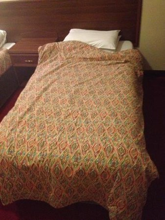 West Park Hotel: bed