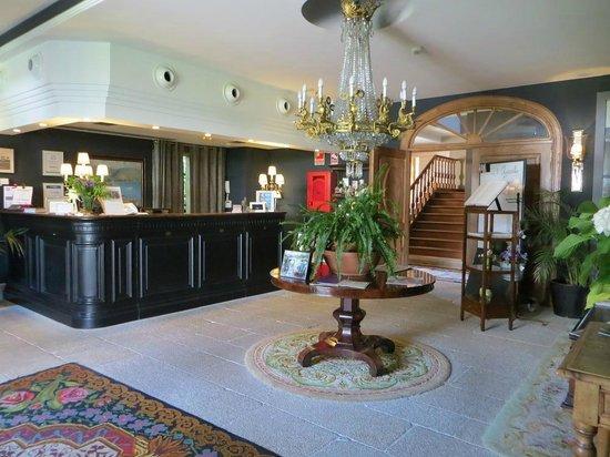 Hotel Spa Relais & Chateaux A Quinta da Auga : Recepción