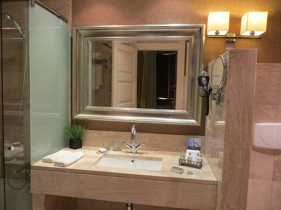 Hotel Spa Relais & Chateaux A Quinta da Auga : Baño