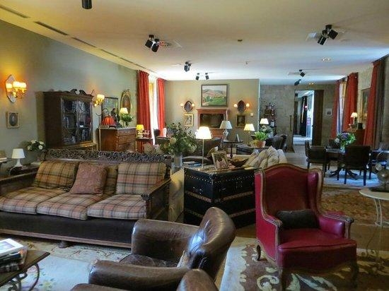 Hotel Spa Relais & Chateaux A Quinta da Auga: Salón