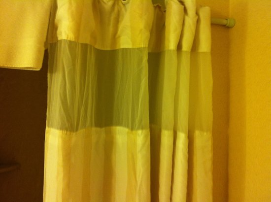 Hilton Garden Inn Washington DC / Greenbelt: shower curtain