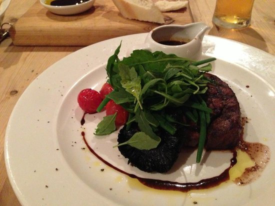 The Northey: 32 day aged fillet steak - melt in mouth