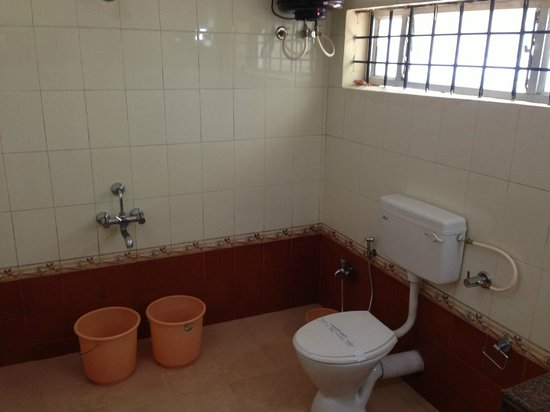 TTDC Hotel: Cottage room - Bathroom