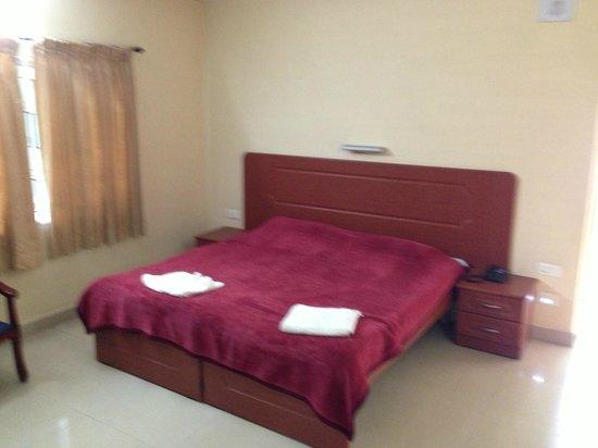 TTDC Hotel : Cottage Room Bed